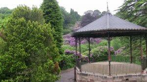 Pavillon asiatique Jardin